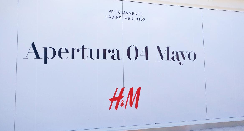 H&M abrirá sus puertas el 4 de mayo