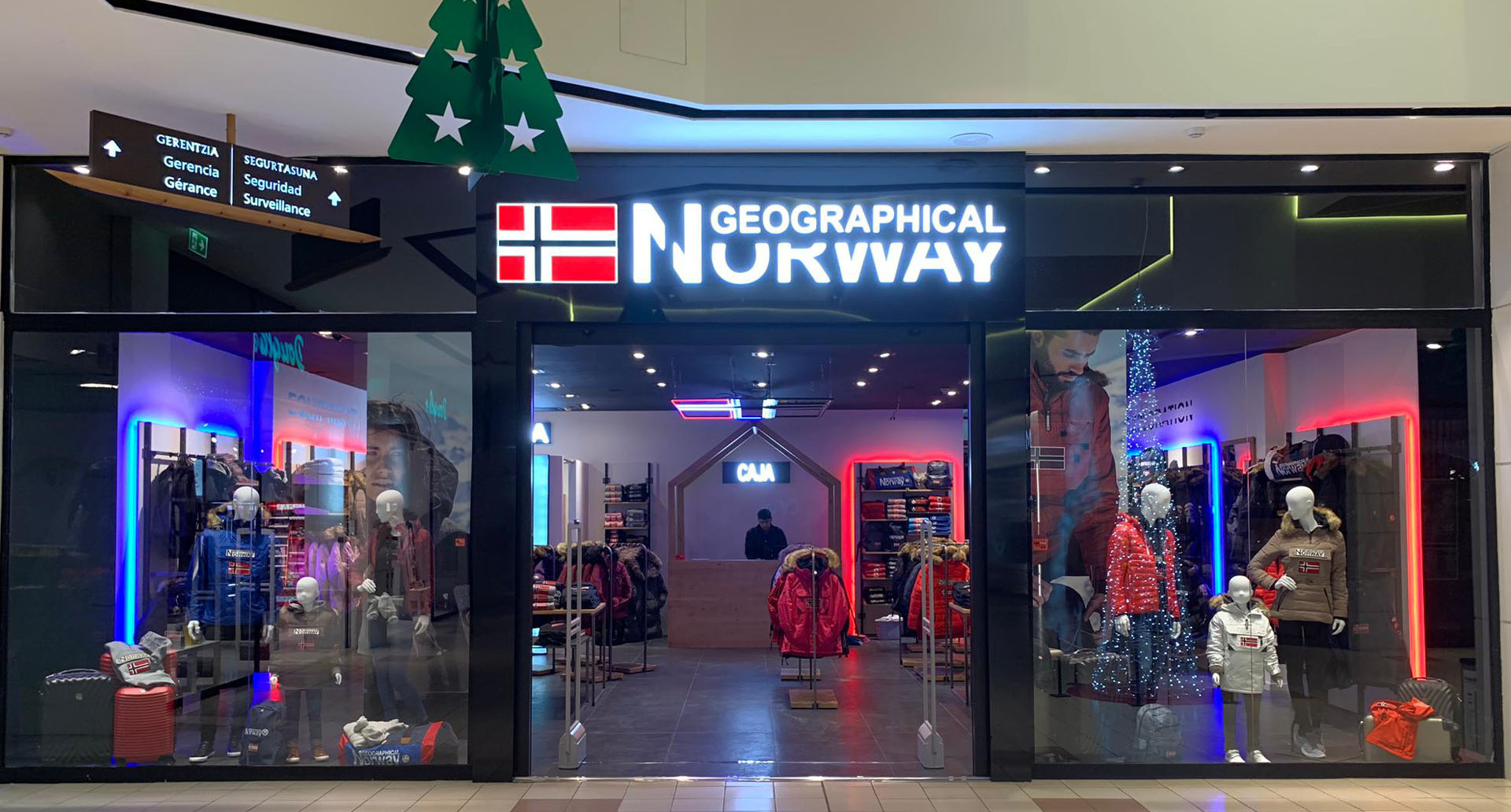 Nueva apertura en Txingudi: Geographical Norway