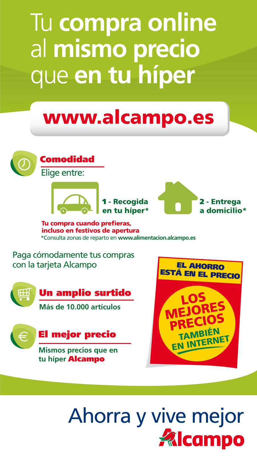 Compra online Alcampo cas