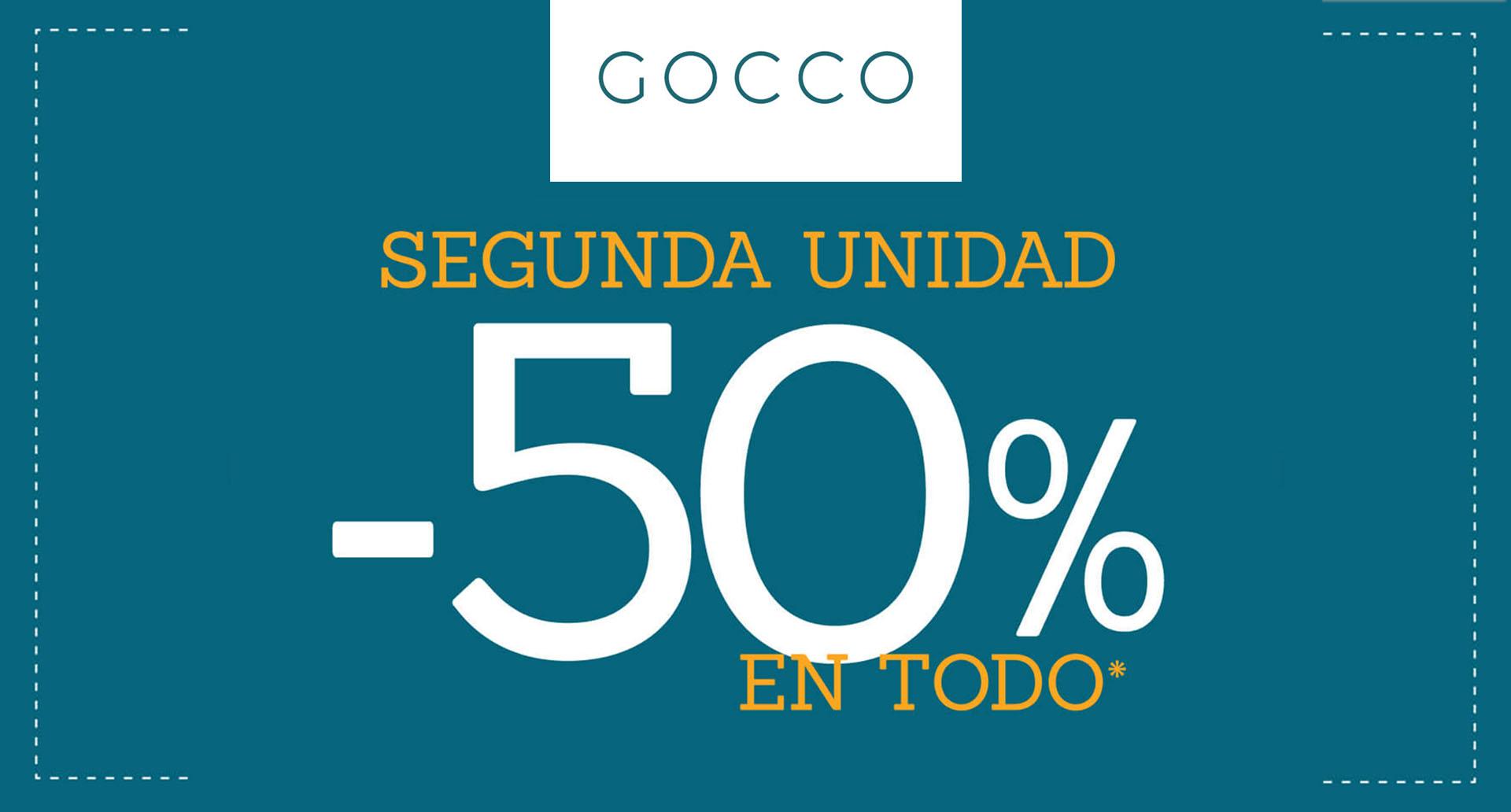 Gocco Segunda Unidad al -50%