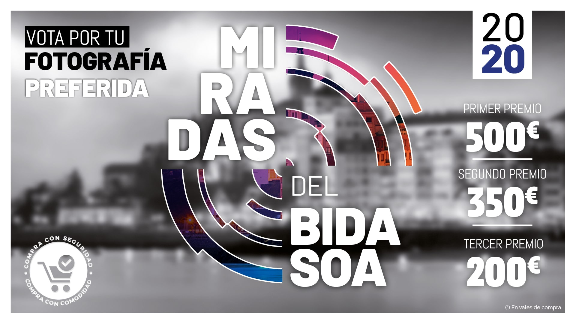 ¡Ya puedes votar por tu fotografía favorita del Concurso Miradas del Bidasoa!