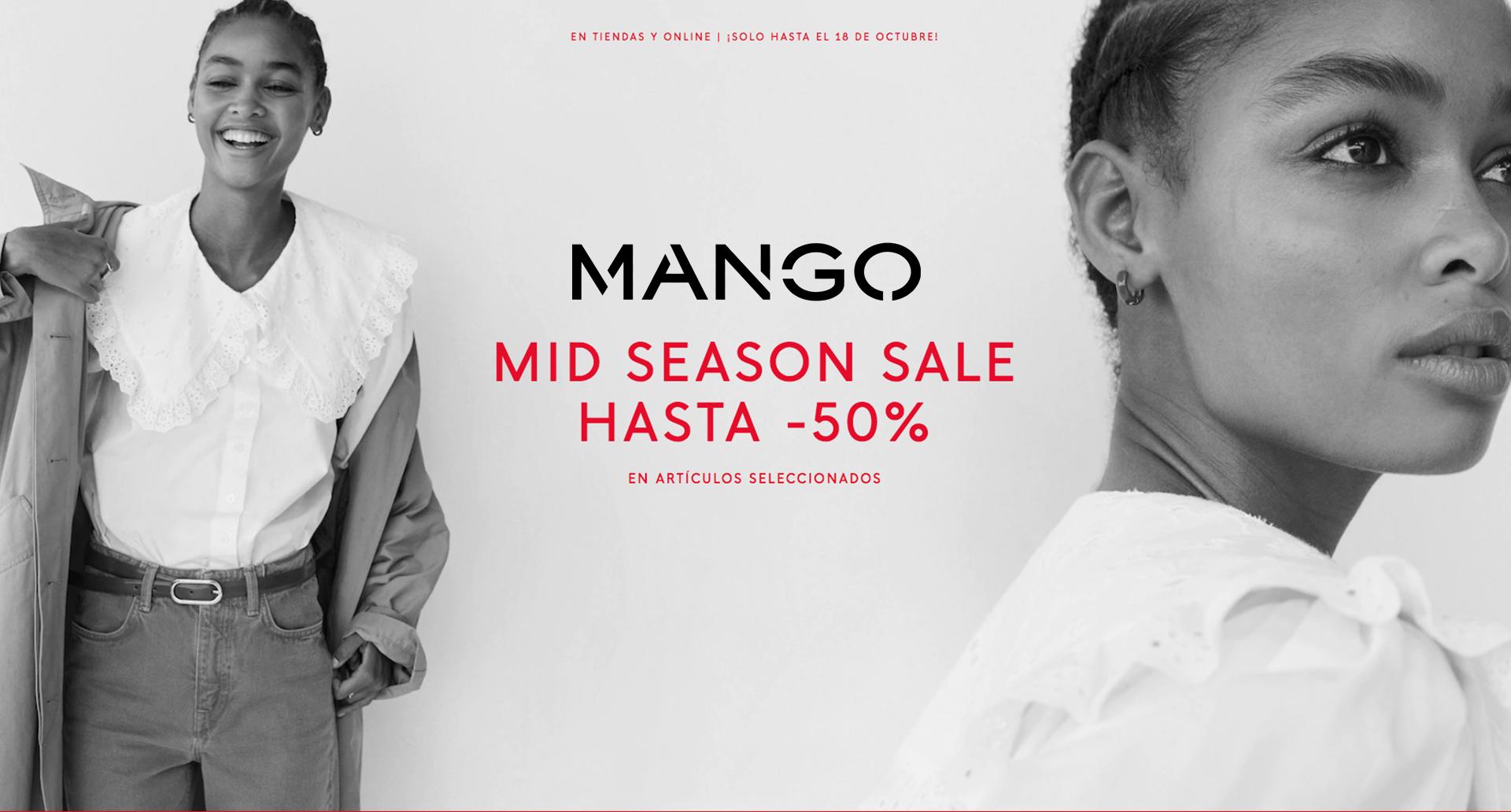Rebajas Mid Seasons Sale 50%